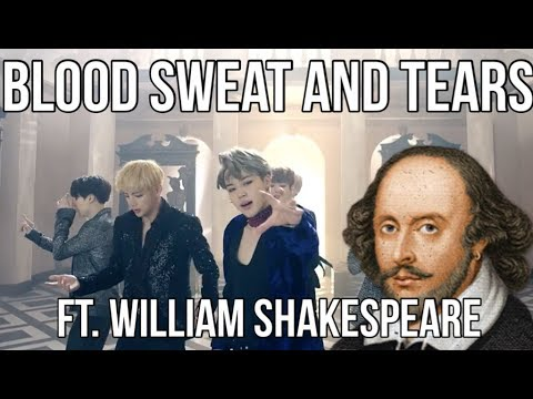 BTS 'Blood Sweat & Tears' MV but it's translated into Shakespearean English