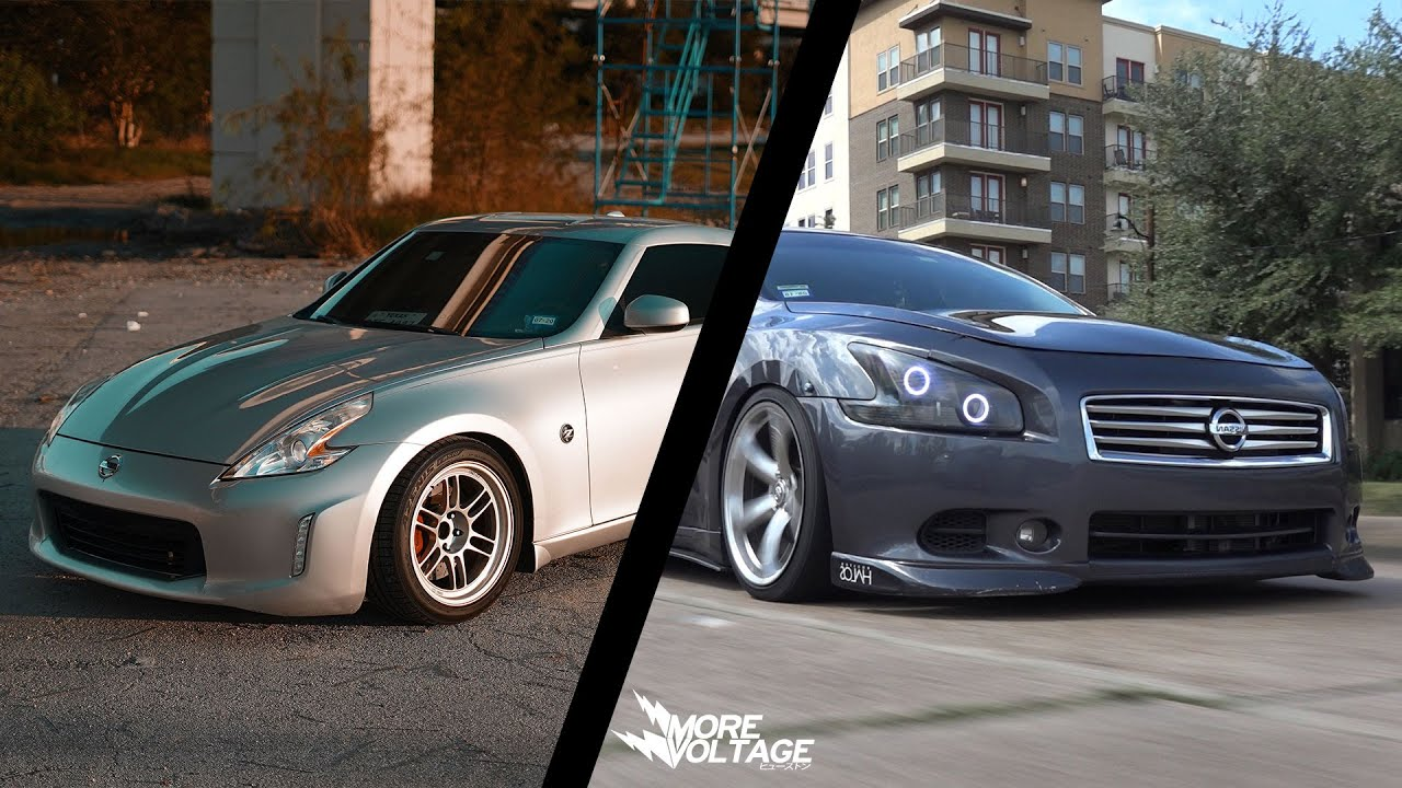 Tuned Nissan 370z vs Tuned 6 Speed Swapped Nissan Maxima A35 (7th Gen)