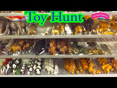 Toy Hunt - Schleich Animals + Breyer Model Horses  (Toys R Us ) Honeyheartsc Video