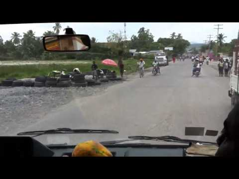Driving in Les Cayes, Haiti