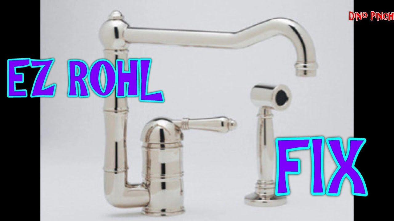 rohl faucet soap pump youtube rh youtube com