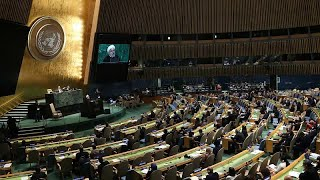 US President Donald Trump trades barbs with Iran counterpart Hassan Rouhani at UN General Assembly