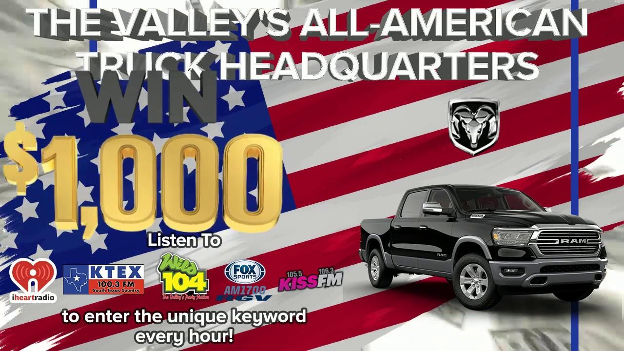 Listen & Win $1000! | Ed Payne Motors | Weslaco, Texas