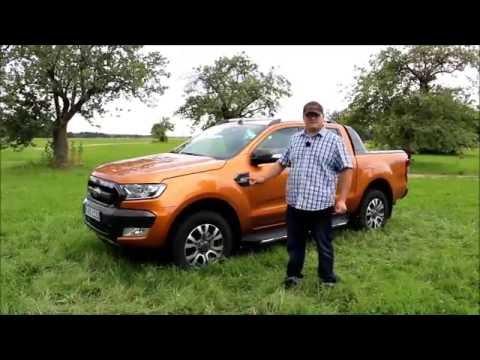 Ford Ranger 2016 Wildtrak Testbericht Deutsch/german