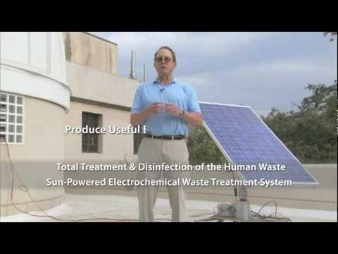 Self-Contained, PV-Powered Domestic Toilet and Wastewater Treatment System