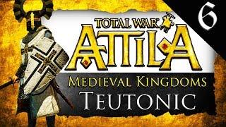 POLAND DESTROYED Medieval Kingdoms Total War Attila Teutonic Order Gameplay 6