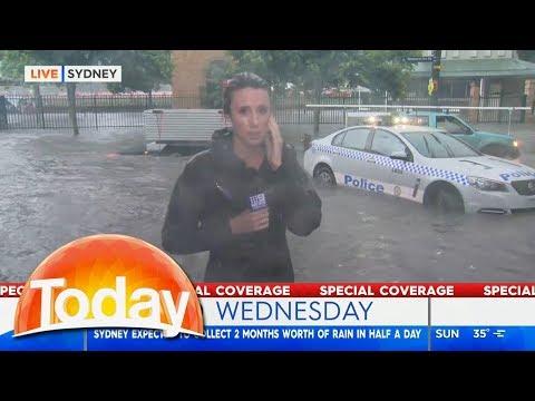 Sydney's Wild Weather | TODAY Show Australia