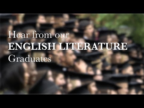 Hear from our English Literature graduates