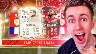 TOTS REWARDS GOT ME ICON MOMENTS CANTONA!! (FIFA 21 PACK OPENING)