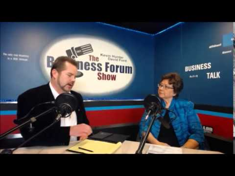Mary Ann Nunes Title Professionals on The Business Forum Show with Kevin Hunter