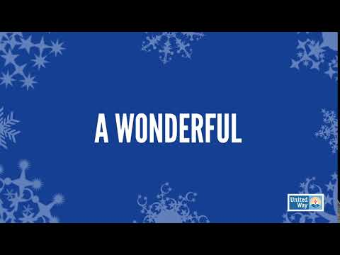 HAPPY HOLIDAYS FROM UNITED WAY WORLDWIDE!