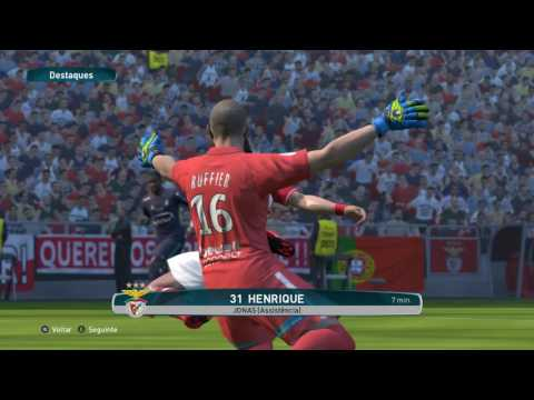 PES 2017: SL Benfica - St Etienne (PC 1080p 60fps NOHUD Patches)