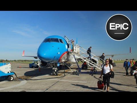 Aterrizaje en el Aeropuerto de Rosario / Landing at the Rosario Int. Airport - Argentina (HD)