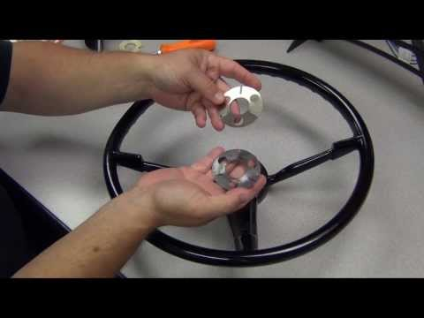 Installing a 1955-68 GM Steering Wheel onto an ididit Column
