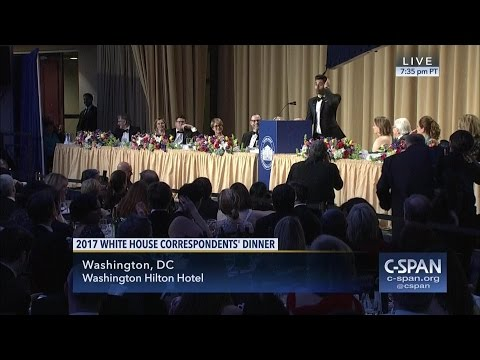 Thumbnail: 2017 White House Correspondents' Association Dinner (C-SPAN)