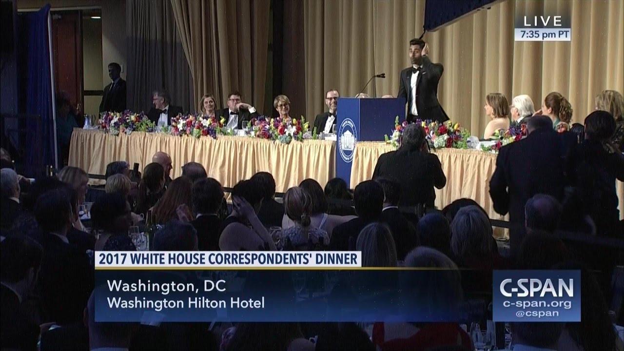 2017 white house correspondents' association dinner (c-span) - youtube
