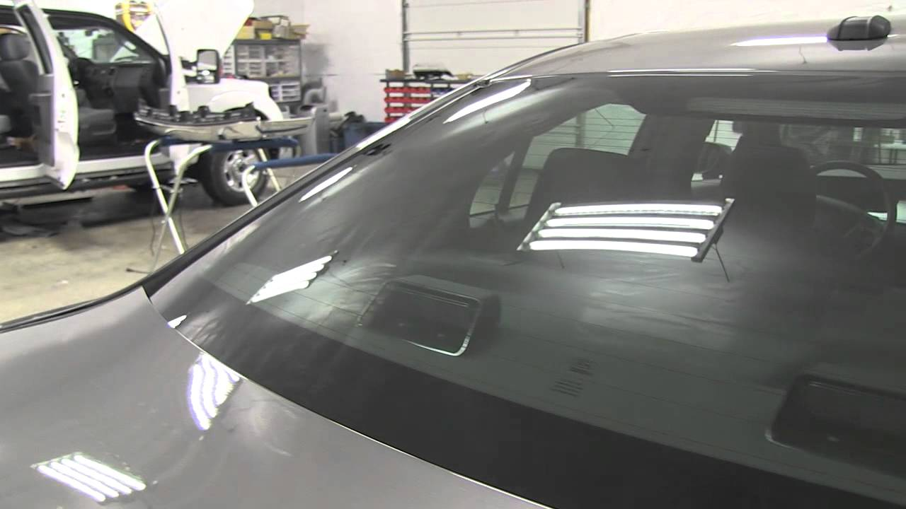 Ford Taurus Detective Vehicle Installation With Tinted