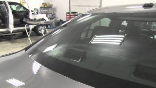 Ford Taurus Detective Vehicle Installation with Tinted Lights