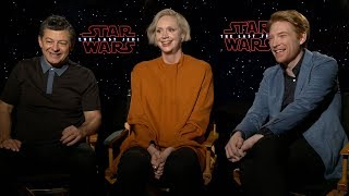 STAR WARS: THE LAST JEDI Interviews: Supreme Leader Snoke, Captain Phasma & General Hux