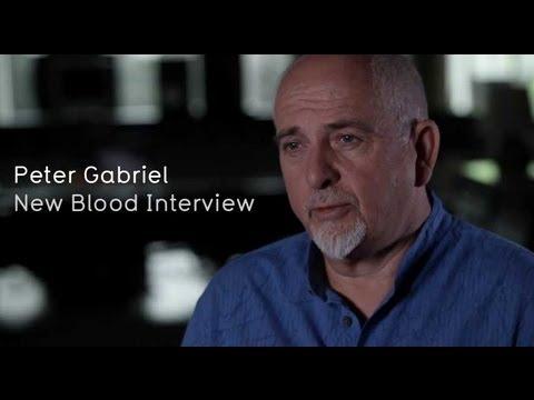 Peter Gabriel New Blood Interview