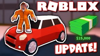 Roblox jailbreak has a new car and red helicopters?! (update)