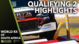 Qualifying 2 Highlights | 2018 Gumtree World Rallycross of South Africa