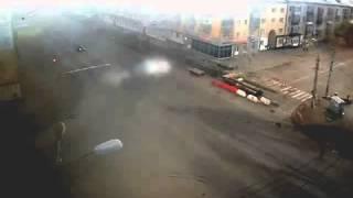 ДТП Курган Пролетарская Мяготина 14 06 2015 5 30