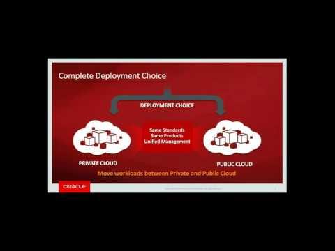 Oracle Cloud webinar