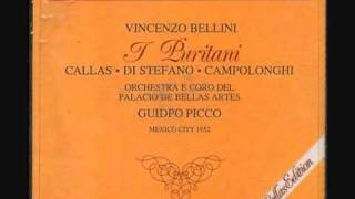 Maria Callas - Son vergin vezzosa - Puritani - 1952