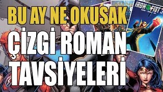 BU AY NE OKUSAK? | ÇİZGİ ROMAN TAVSİYELERİ Video