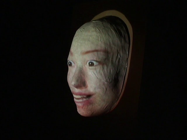 Self Portrait Mask Animation Projection