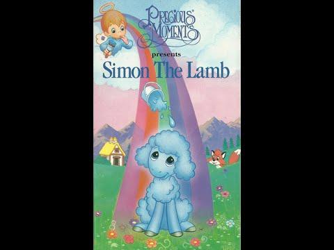 Opening & Closing to Precious Moments: Simon the Lamb 1994 VHS
