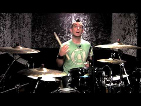 Pete Parada of The Offspring: Drum Lesson Hammerhead Ride Cymbal Intro