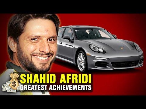 Shahid Afridi - Net Worth, Cars, Bikes - GREATEST ACHIEVEMENTS