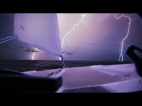 Surviving a LIGHTNING STORM and serious Boat Repairs WEEKS from land! Ep.3