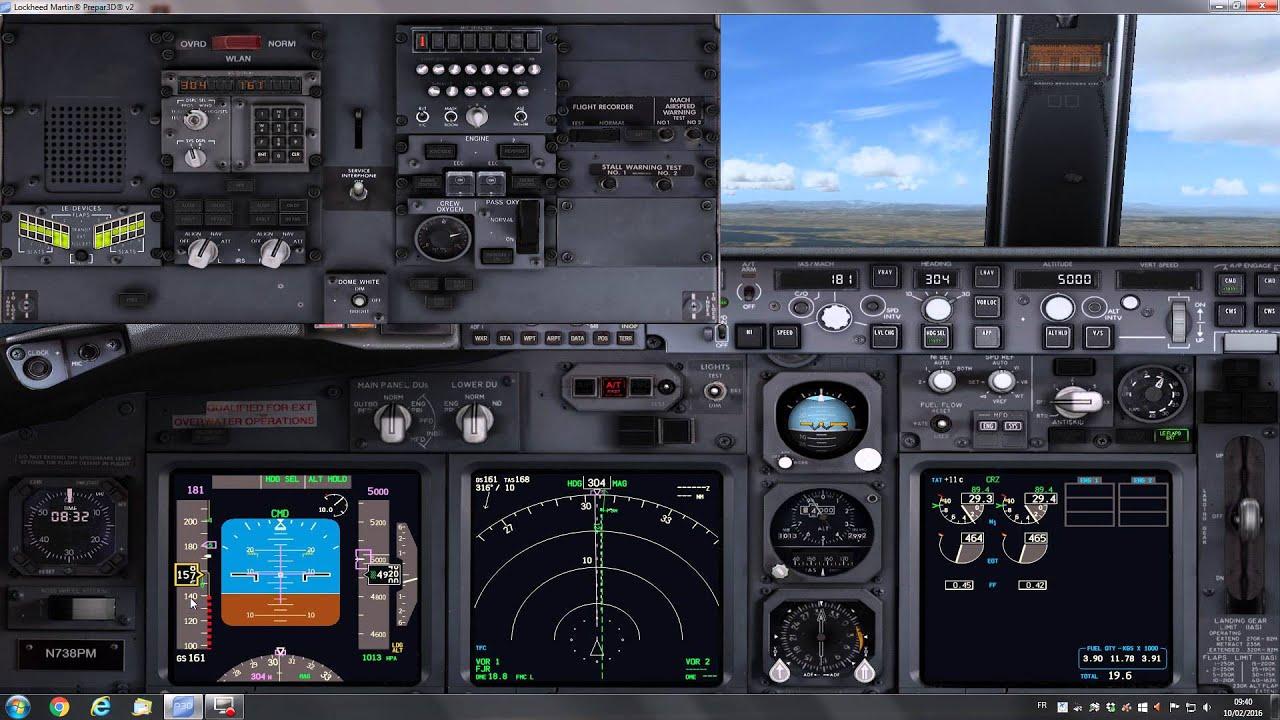 Boeing 737-800 - Commandes De Vol - Autoslats