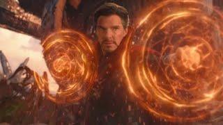 Финальная битва на Титане часть 1. Момент из фильма Мстители 3 Война Бесконечности