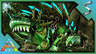 CLAIMING A BASE LOCATION AND TAMING A TEK STEGO! - Ark: Valguero [DLC Gameplay E10]