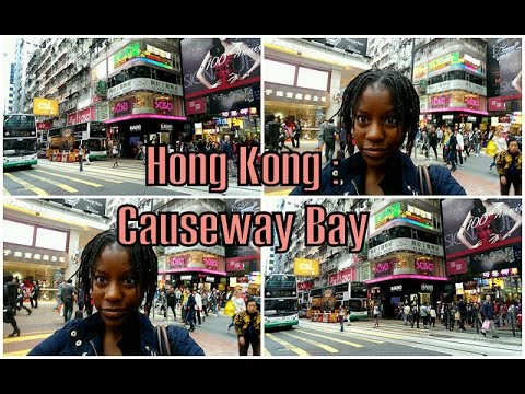 Hong Kong Travel Vlog: A tour of Causeway Bay