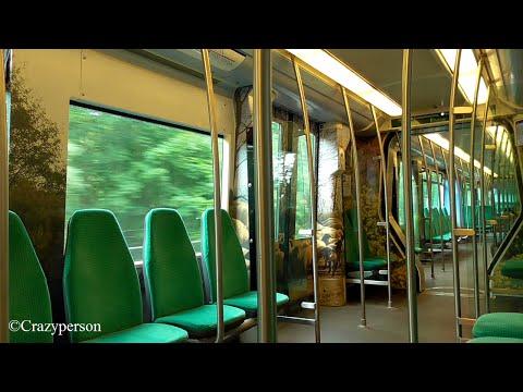 Metrorit Rotterdam Centraal - Zalmplaat op lijn D (1e dag met 'PinfoS')