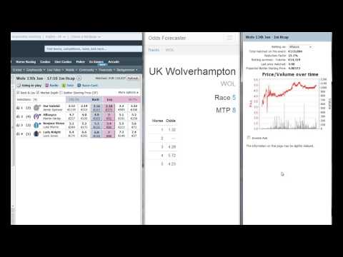 Horse Racing: Trading at UK Wolverhampton with Betfair