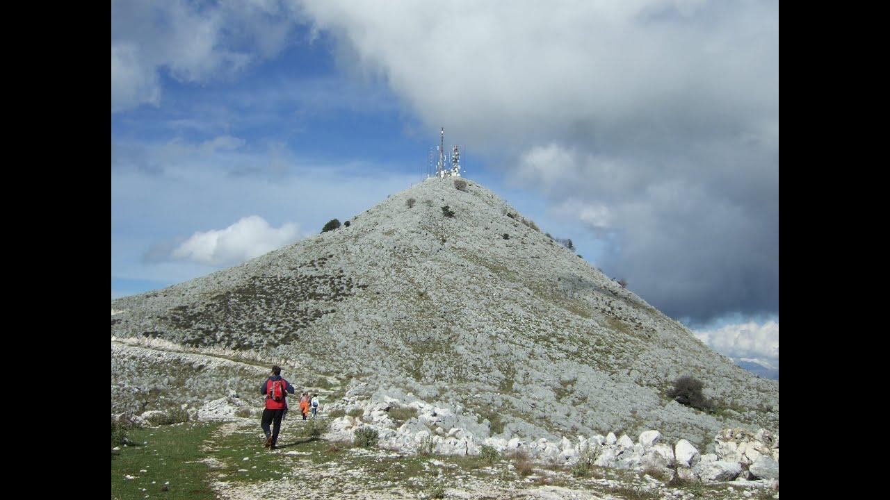 Ascending Mount Pantokrator, the highest mountain of Corfu ...