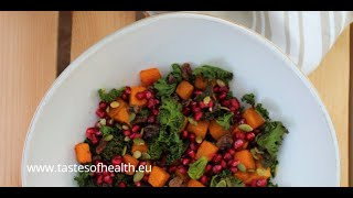 Recipes With Kale Salad - Raw Kale Salad Recipe - Best Kale Salad Ever