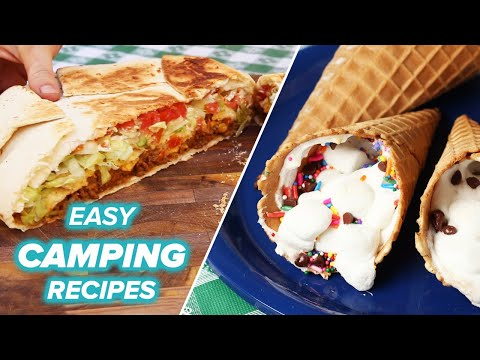Easy Camping Recipes And Hacks •Tasty