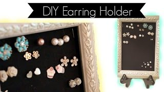 Easiest Diy Earring Holder