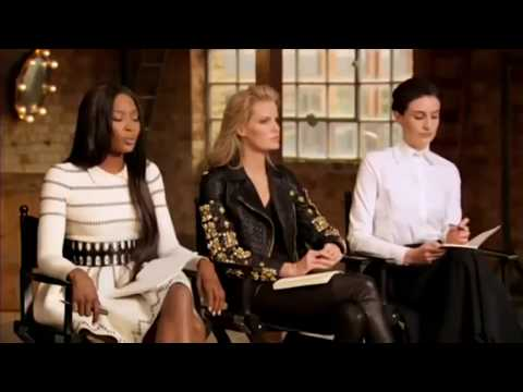Naomi laughs at Gigi Hadid's runway skills