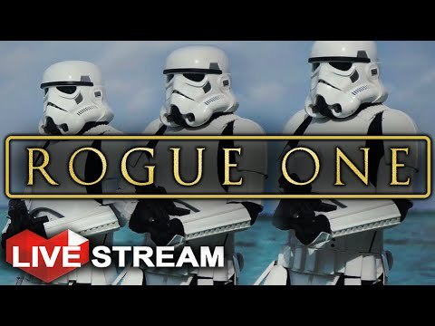 Star Wars Battlefront | New Rogue One Footage BREAKDOWN | Live Stream