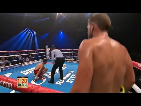 Lee vs. Saunders - Round 3 Highlights | SHOWTIME BOXING INTERNATIONAL