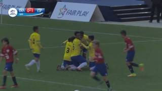 Brazil vs Spain - Ranking match 3/4 - Highlight - Danone Nations Cup 2016