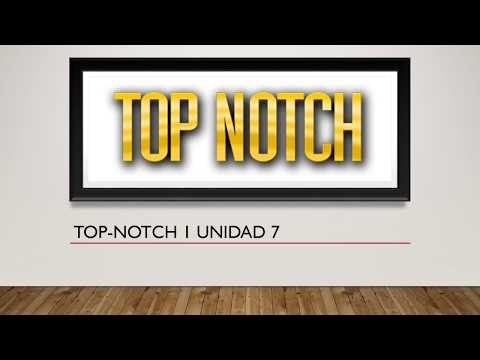 Top notch 1 unit 7 answers My englishlab (Respuestas)